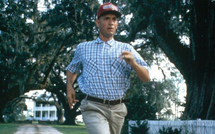 Het bijzondere verhaal leverde de Italiaan de bijnaam 'Forrest Gump' op, naar de gelijknamige film van Tom Hanks.