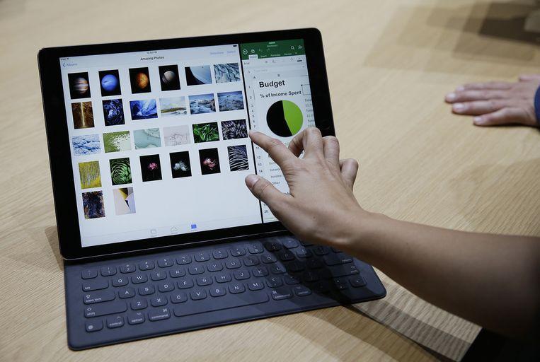 iPad Pro met de Smart Keyboard. Beeld AP