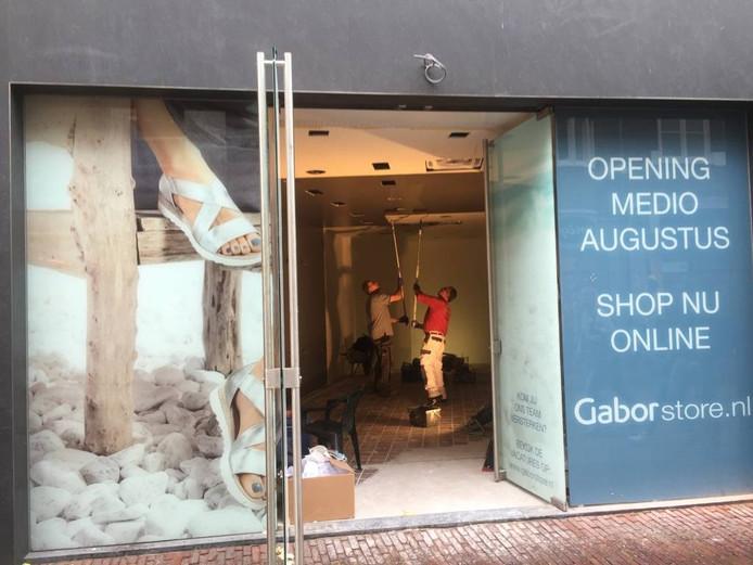 Er wordt hard gewerkt aan de nieuwe Gabor in Arnhem.