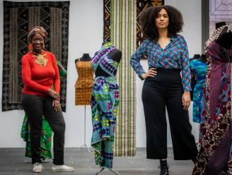 Curators Nyamchama (55) en Rachel (26) eren Afrikaanse cultuur met stoffententoonstelling in Modemuseum Hasselt