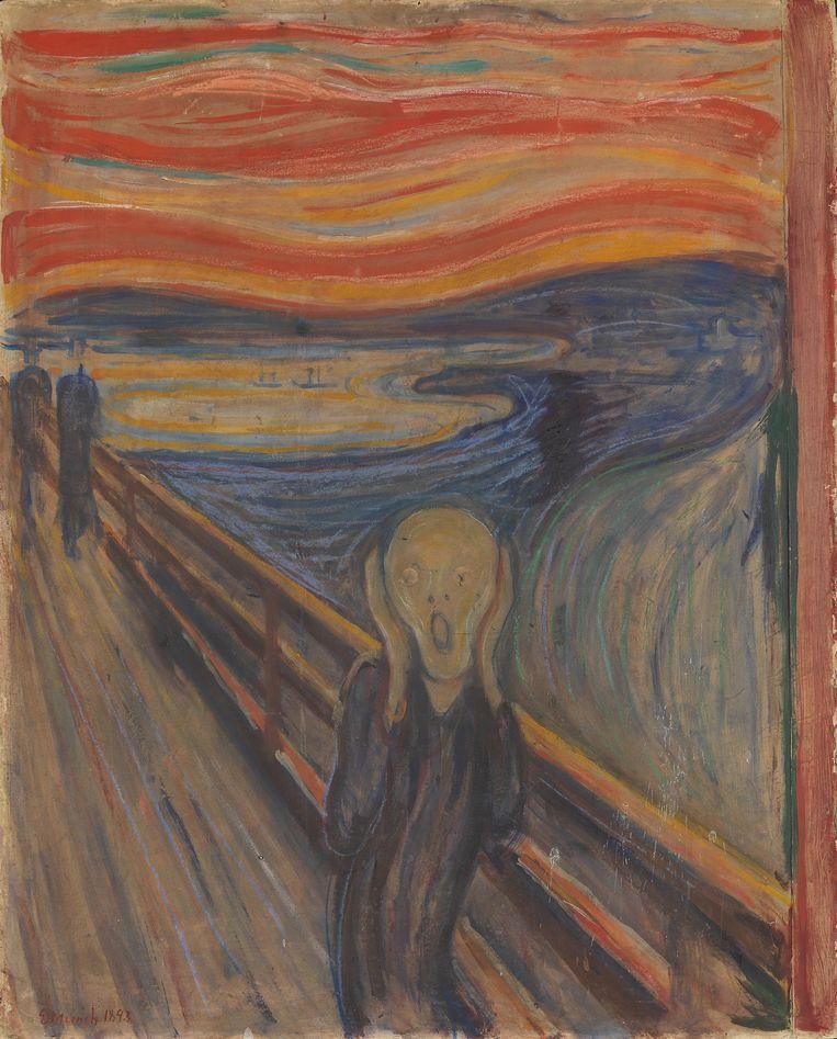 'De schreeuw' van Edvard Munch Beeld EPA