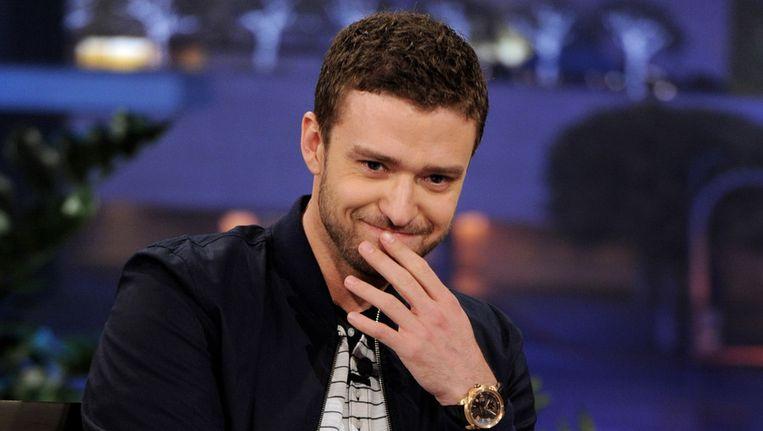 Justin Timberlake, de nieuwe motor achter het zieltogende MySpace. Beeld getty