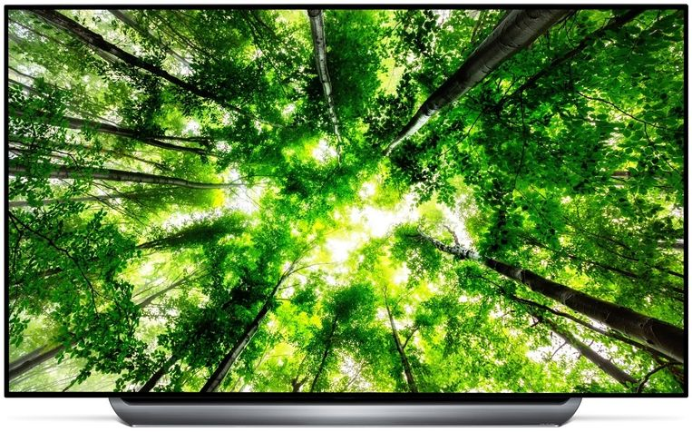 De LG OLED C8.