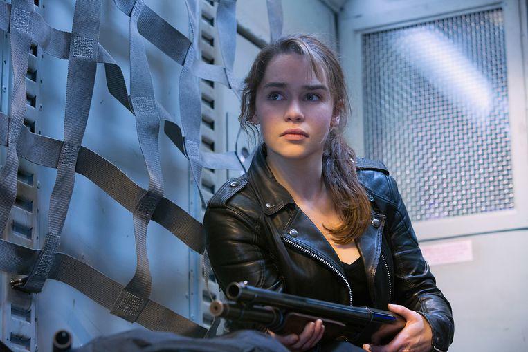Emilia Clarke in Terminator Genesys Beeld ap