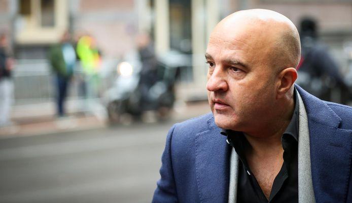 Misdaadjournalist John van den Heuvel.