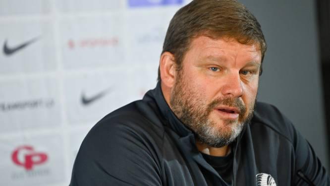 """Hein Vanhaezebrouck eist meer efficiëntie: """"Cijfers tonen dat ons voetbal bij de besten is"""""""