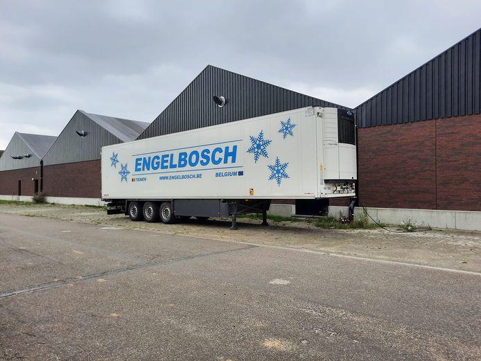 Dankzij een diepvriesoplegger van Engelbosch konden de producten bleven de producten veilig bewaard tot het vertrek.
