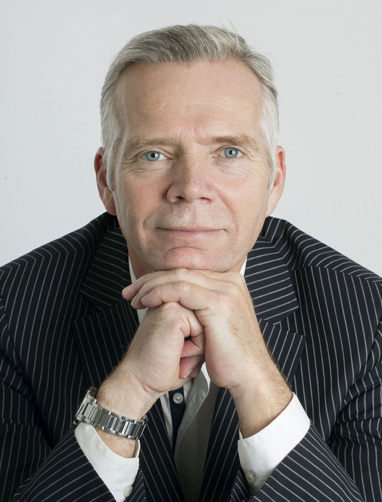 Cees van der Laan, hoofdredacteur Trouw Beeld Maartje Geels