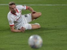 Pijnlijke nederlaag Sevilla en invaller Luuk de Jong: titeldroom aan diggelen