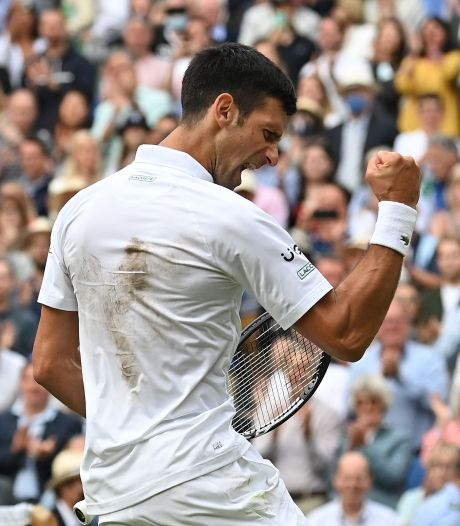 Novak Djokovic rejoint Matteo Berrettini en finale de Wimbledon