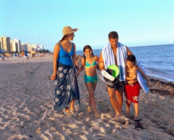 1 op de 5 gezinnen kan niet elk jaar op reis.