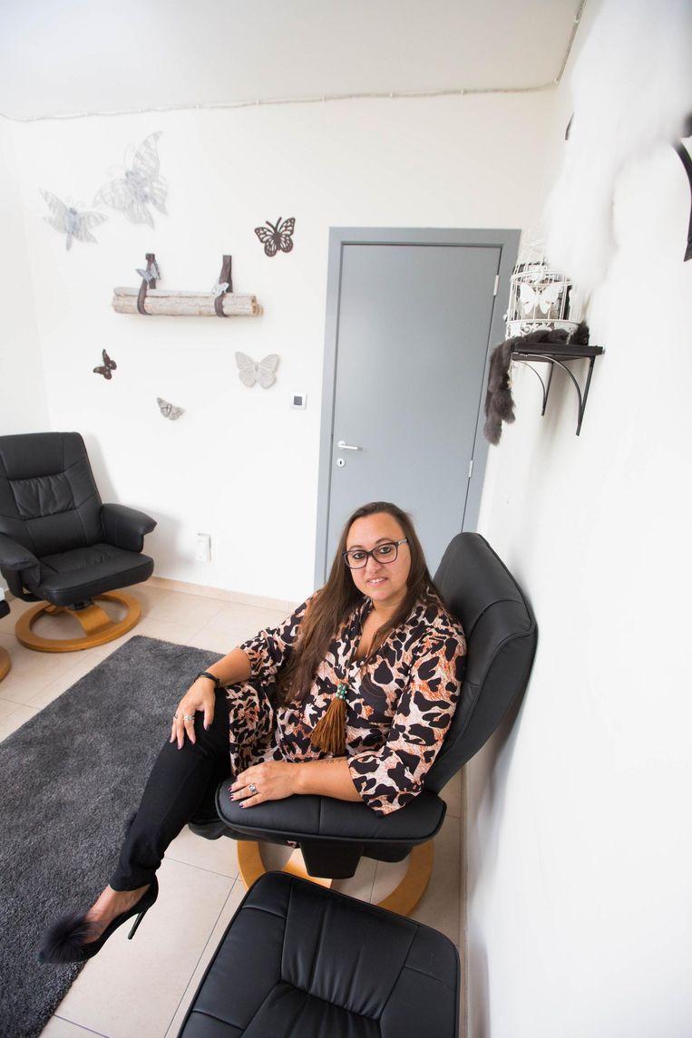 Sarina heeft sinds april een eigen praktijk in Hasselt.