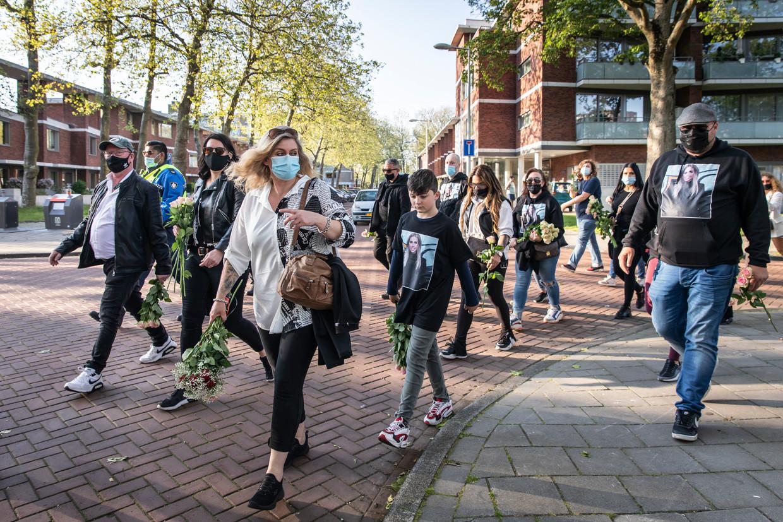 De tocht voor Mintjes startte bij het Haarlemmermeerstation. Beeld Dingena Mol