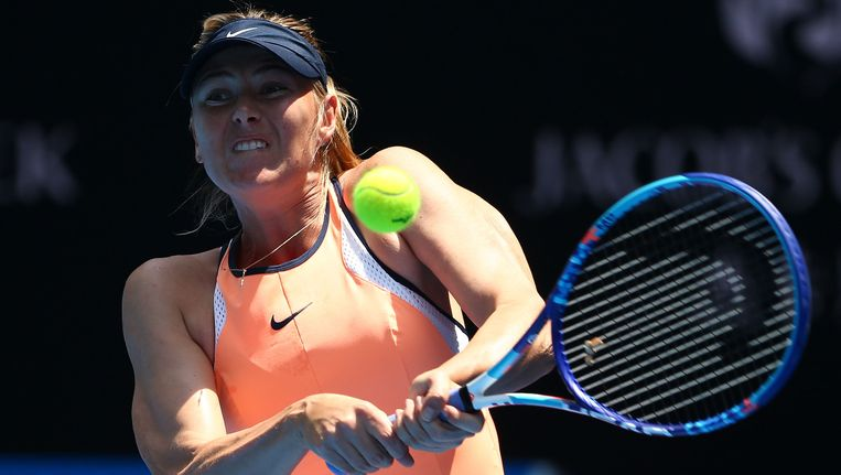 Maria Sharapova. Beeld Getty Images