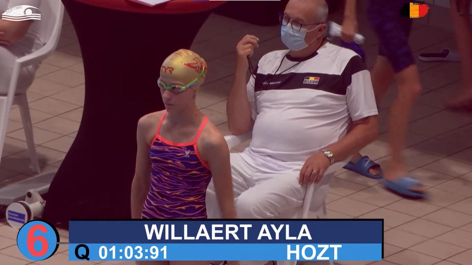 Het Hoogstraats Zwemteam (HoZT) wist vijf medailles te halen, allemaal dankzij Elina Van de Cloot. Maar ook Ayla Willaert gaf het beste van zichzelf.