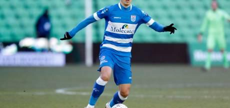 Seizoen voorbij voor PEC Zwolle-rechtsback Van Wermeskerken