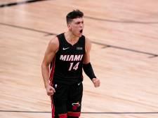 'Rookie' Herro (20) brengt Miami met 37 punten dicht bij NBA-finale