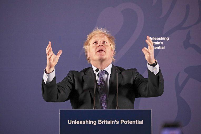 Boris Johnson/ Beeld EPA