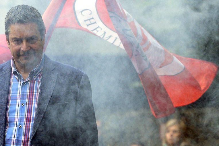 Michel Abdissi van GSP Cheminots. Beeld photo_news
