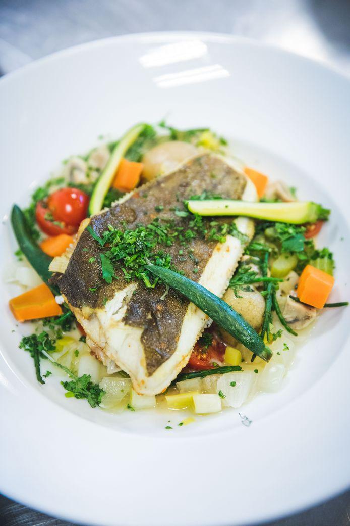 Waterzooi van vis volgens Danny Horseele: met pladijs, zeekraal en veel verste groenten van de Food Savers.