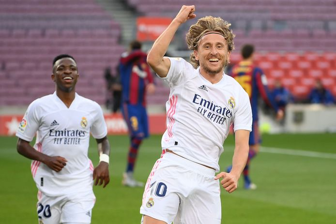 Le but de Luka Modric a fait plier le Barça.