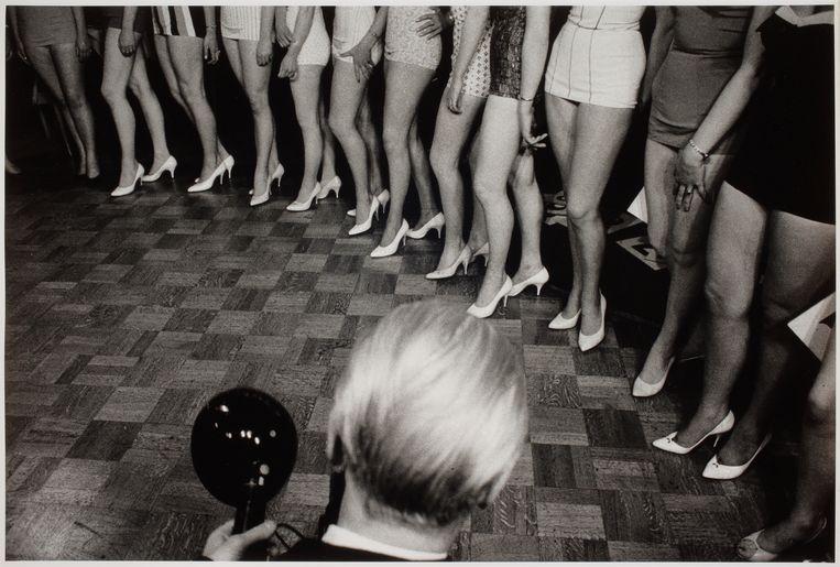 Miss Holland verkiezing, Amsterdam, 1959 Foto Eddy Posthuma de Boer Beeld Eddy Posthuma de Boer