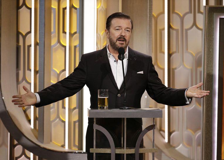 Ricky Gervais. Beeld ap