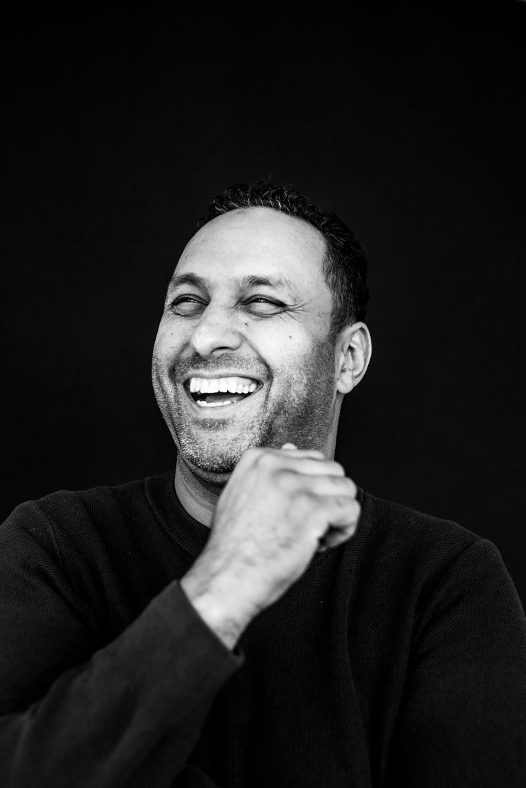 Khalid Kasem:  'De aanklagers baseren zich alleen op dat ene PGP-bericht. En dat komt uit een proces-verbaal van 67 pagina's, met daarin 450 berichten.' Beeld Linelle Deunk