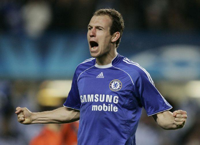 Arjen Robben maakte in 2007 een belangrijke goal tegen FC Porto.