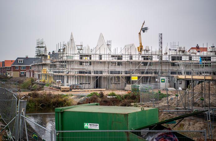 In Zuidplas worden veel woningen gebouwd. De gemeente wil speculatie daarmee tegengaan. Foto: Frank de Roo