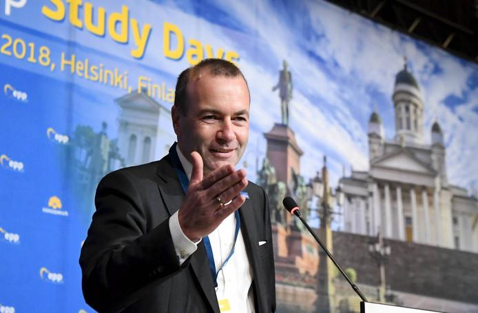 Manfred Weber lijkt de 'Spitzenkandidat' van de Europese Volkspartij te worden.