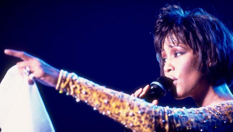 Whitney Houston in 1992. Beeld ANP