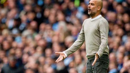 """Guardiola: """"City nog steeds titelkandidaat ondanks achterstand op Liverpool"""""""