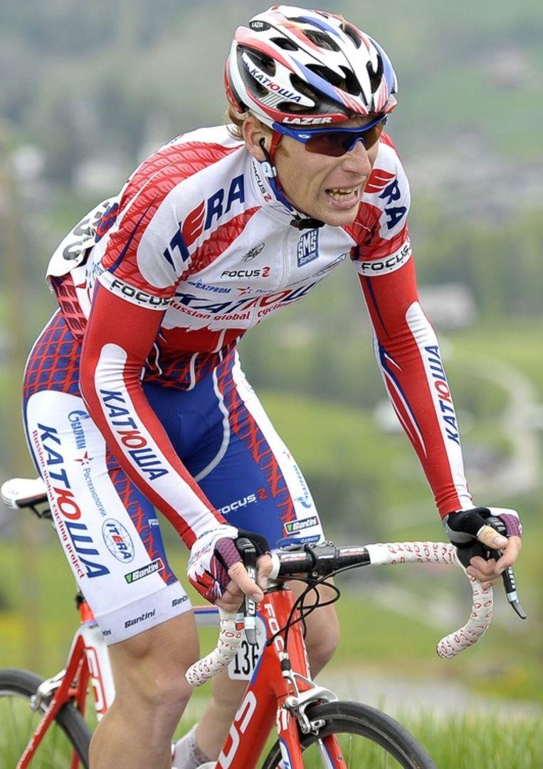Pavel Brutt versnelde tijdens de laatste beklimming. Beeld EPA