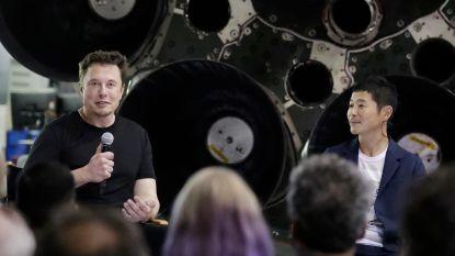 Japanse zakenman eerste SpaceX-passagier ooit met een retourtje naar de maan