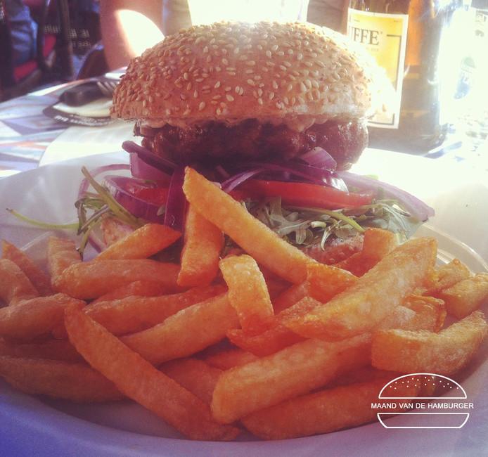 Hamburger bij Polly
