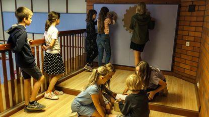 Klassen worden escape rooms bij opening nieuwe school