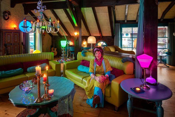 De kamer vol kleur van Marijke.