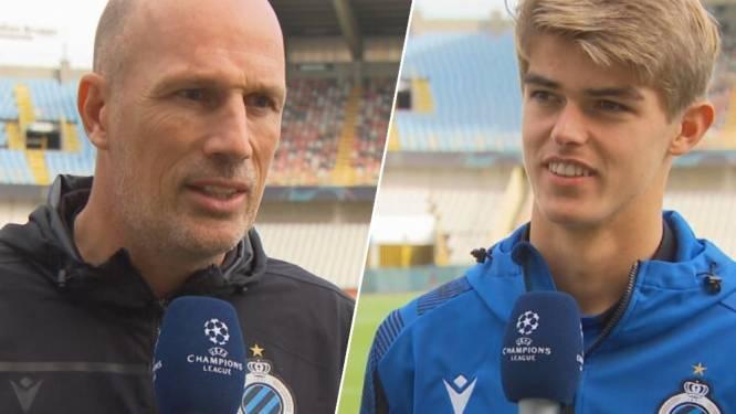 """Clement: """"Man City is van nog hoger niveau dan PSG"""" - De Ketelaere: """"Als we op ons best zijn, zit er misschien weer iets moois in"""""""