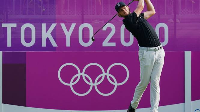 Thomas Pieters begint uitstekend aan golftoernooi en staat gedeeld derde