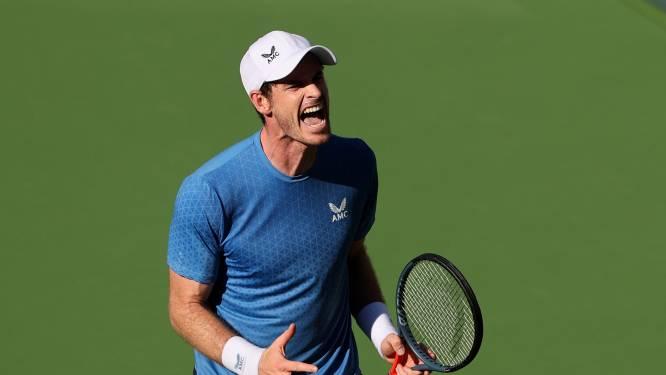 "Andy Murray slaat ace met gewaagde onderhandse service: ""Dit had ik nog nooit gedaan"""