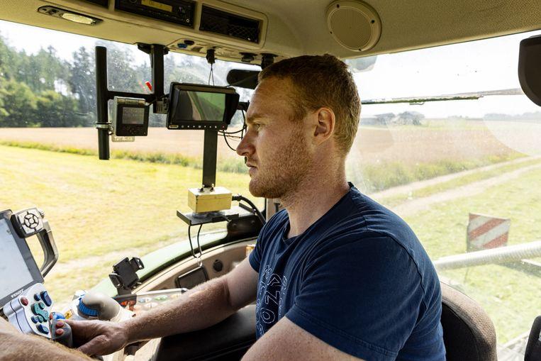 Lukas Übertsberger van boerderij Daxerhof. 'Het was al snel duidelijk dat we niet mee konden met grote landbouwlanden als Duitsland en Nederland