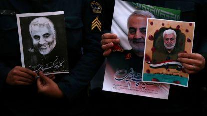 Iraanse gemeenschap in Brussel houdt herdenking voor vermoorde generaal Soleimani