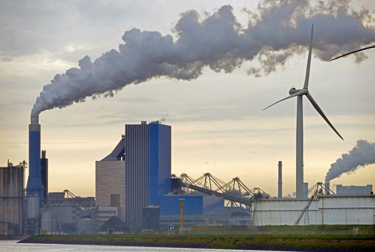 De kolencentrale op de Maasvlakte Beeld Hollandse Hoogte / Flip Franssen