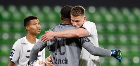 Lille blijft druk op PSG opvoeren