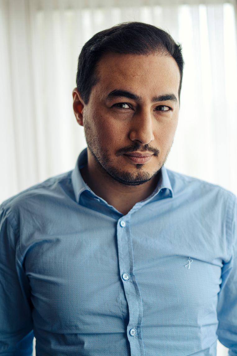 Advocaat Mohamed Ozdemir. Beeld Thomas Nolf