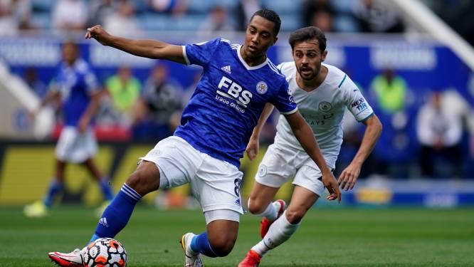 Leicester-Belgen Castagne en Tielemans verliezen met kleinste verschil van Manchester City, waar De Bruyne niet van de bank komt