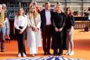 De koninklijke familie tijdens Koningsdag.