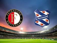 Feyenoord ontvangt Heerenveen in mooi affiche