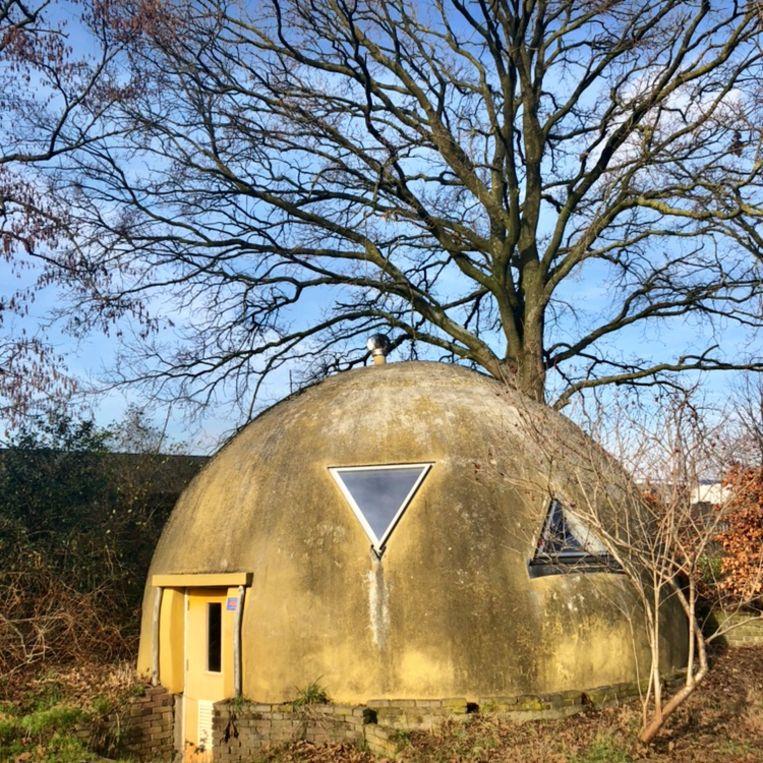 Het eerste klimaatneutrale huis van Nederland nu. Beeld